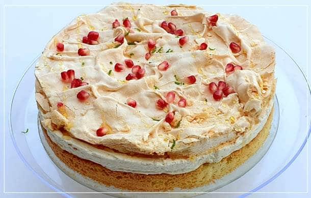 עוגת קרם מסקרפונה