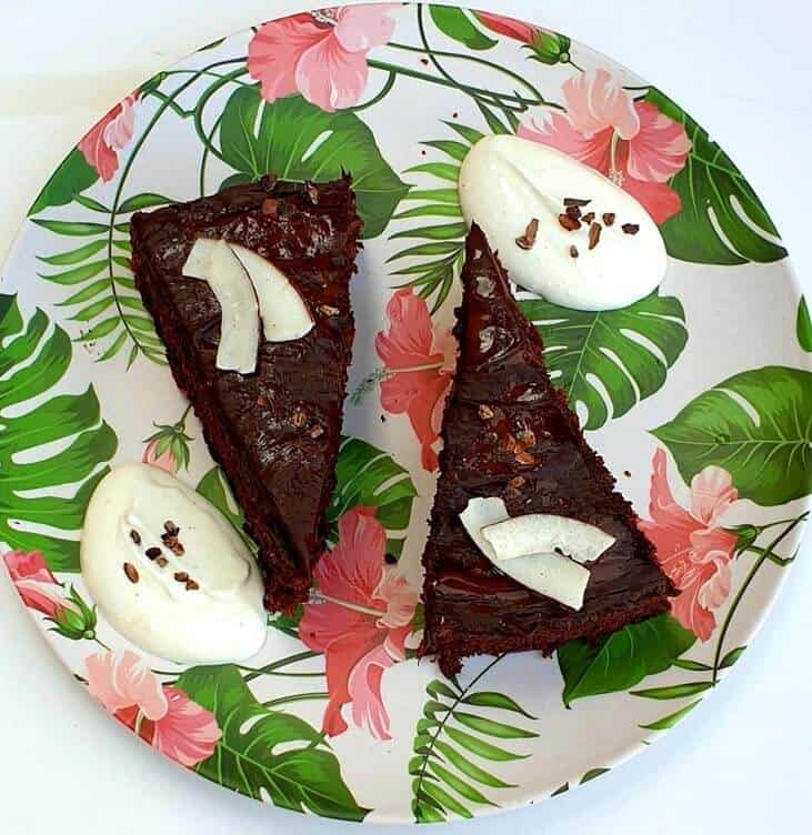 עוגת שוקולד קוקוס