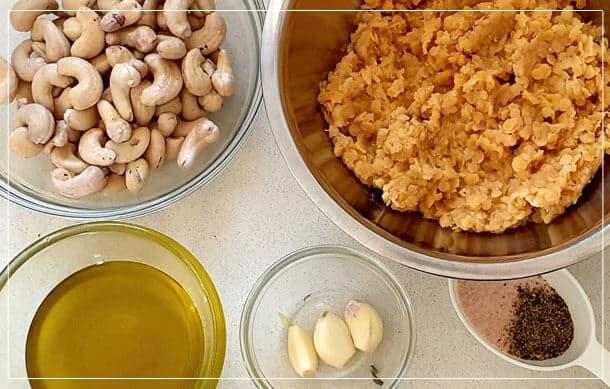 חומרים ממרח עדשים