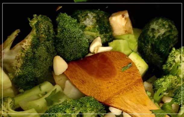 מרק ירקות מרק ירוקים