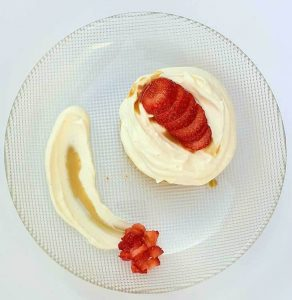 קינוח תותים