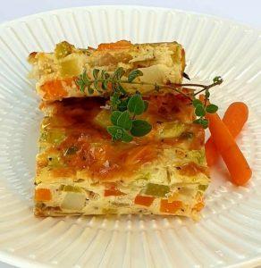 פשטידת ירקות וגבינות