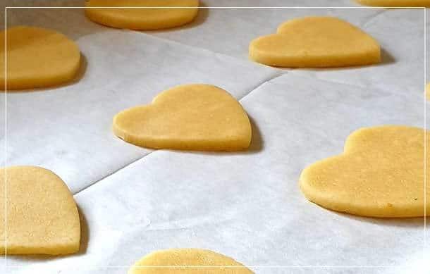 בצק לעוגיות חמאה ותפוז
